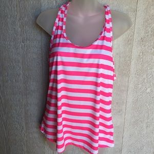 3/10.00😃  XL women's Soffe striped tank top